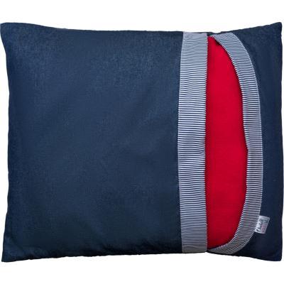 Cama-saco para mascotas Lateral S azul