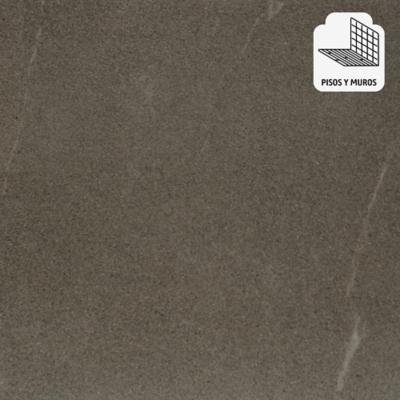 Porcelanato esmaltado impresión digital 60x60 gris 1,44 m2