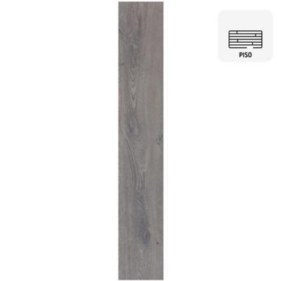 Piso flotante 8mm grafito 121,6x19,6 cm 1,9 m2