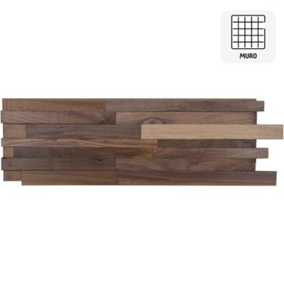 Revestimiento madera walnut 20x120 0.48m