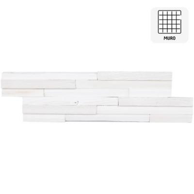 Revestimiento madera blanco 18x60 0,11m