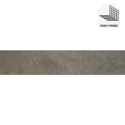 Gres porcelánico 15x60 cm gris 1,44 m2