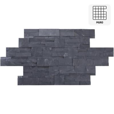 Piedra 35x18 pizarra nogal 0,5 m2