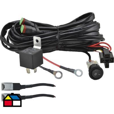 Kit instalación faroles 12 V 2 luces