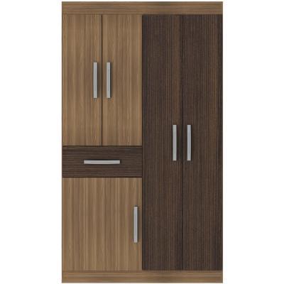 Closet  5 puertas bicolor