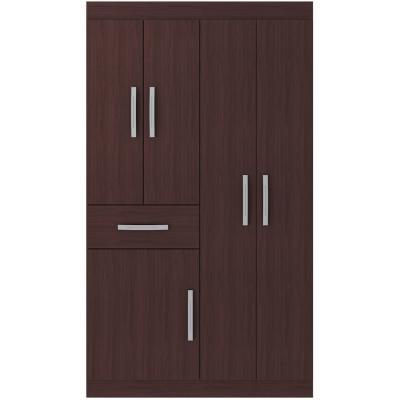 Closet  5 puertas caoba