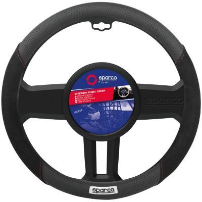 Cubre volante negro/gris