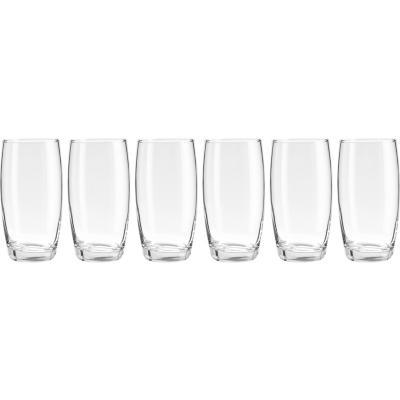 Set Vasos de Vidrio 400 ml 6 Unidades