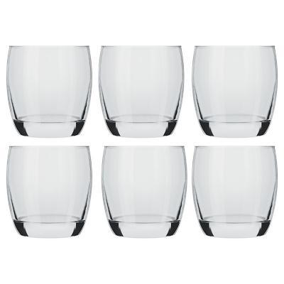 Set Vasos de Vidrio 330 ml 6 Unidades