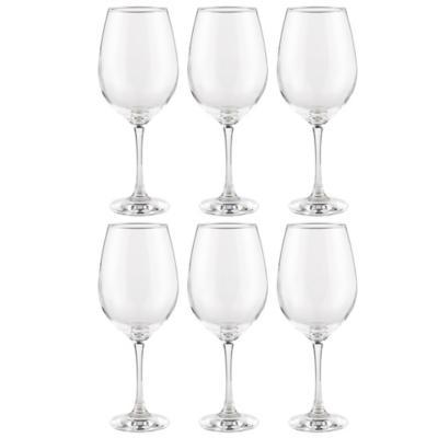 Set 6 copas vino