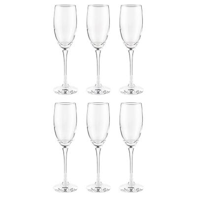 Set de 6 Copas Champaña 190 ml