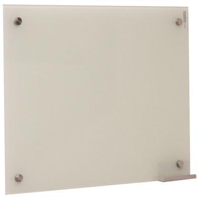 Pizarra de vidrio muro blanca 100x70cm