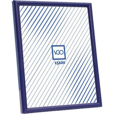 Marco plástico 20x30 cm azul