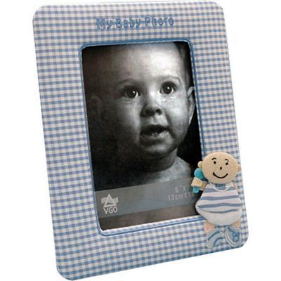 Marco de tela infantil cuadrille 13x18 cm