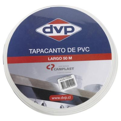 Tapacanto PVC Blanco 21x0,45 mm 50 m