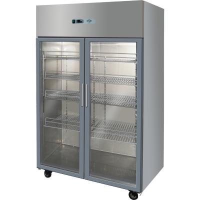 Refrigerador industrial 2 litros vidrio 1.000 litros gris