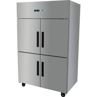 Congelador industrial 4 puertas 1.000 litros inox