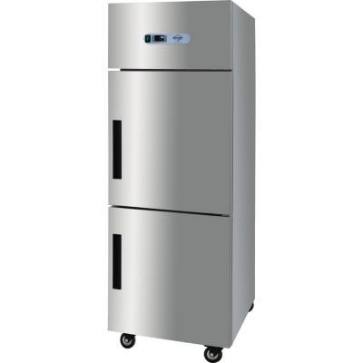 Congelador industrial 2 puertas 500 litros gris