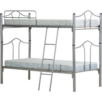Camarote metal monte 1plaza + colchón