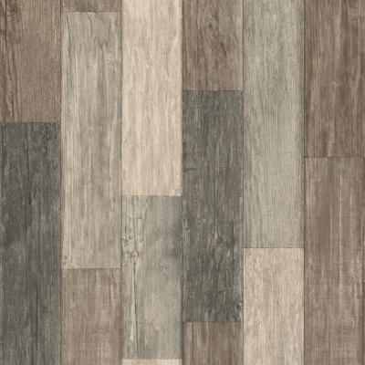 Rollos autoadhesivos Reutilizables fondo madera 52x503 cm