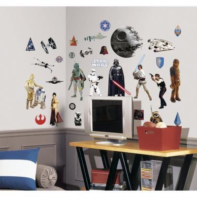 Sticker para muros Starwars