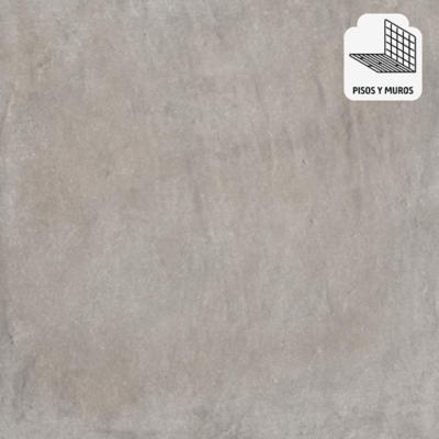 Porcelanato gris 58x58 cm 1,6 m2