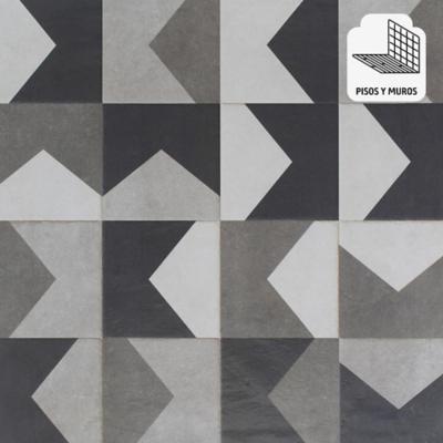 Porcelanato gris 58x58 cm 1,68 m2