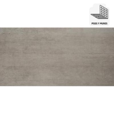 Porcelanato 30x60 plateado 1,44 m2