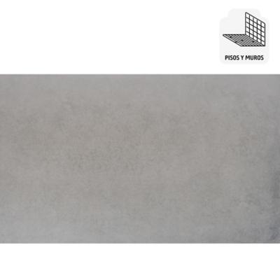 Porcelanato 60x120 gris 1,44 m2