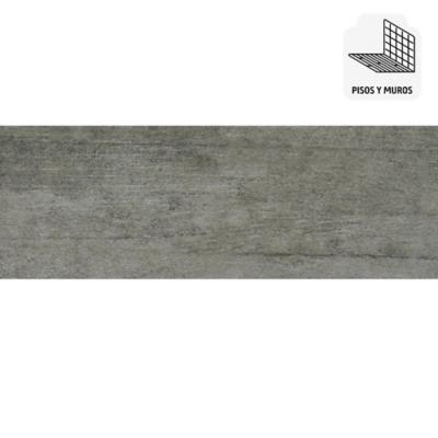 Porcelanato 15x60 gris 1,26 m2
