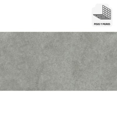 Porcelanato 60x120 gris 1,41 m2