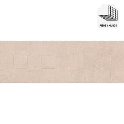 Cerámica beige 25x75 cm 1,68 m2