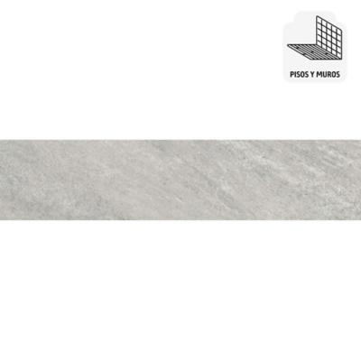 Porcelanato gris 30x60 cm 1,44 m2