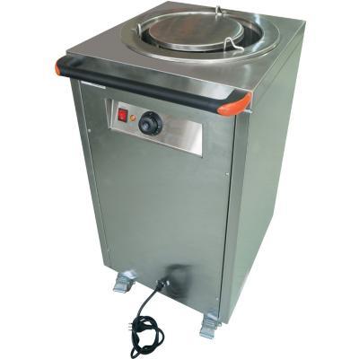Calentador de platos industrial gris