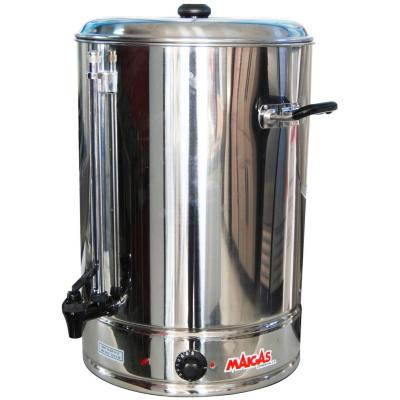 Hervidor industrial de 30 litros gris