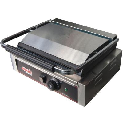 Plancha grill industrial gris