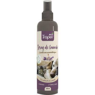 Spray para Perros Relajante y Calmante Lavanda Eco Traper 250 ml