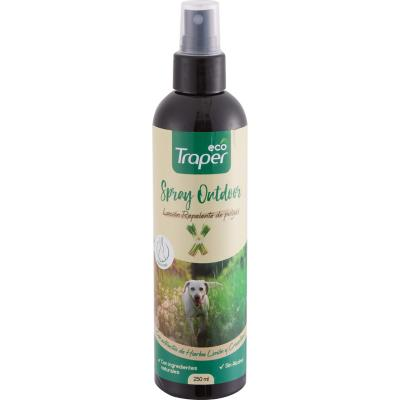 Spray para perros repelente de pulgas 250 ml