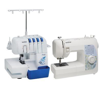 Combo Overlock + Máquina de coser mecánica