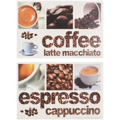 Sticker café 22x33 cm