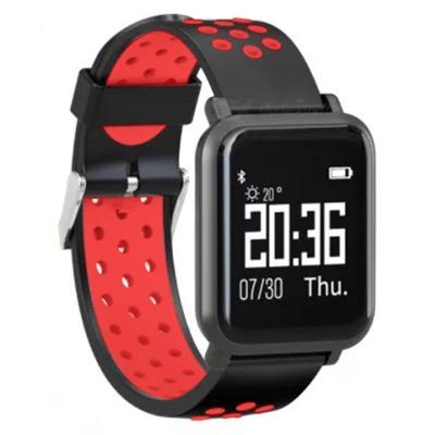 Reloj Inteligente deportivo SW55 Running, Natación rojo
