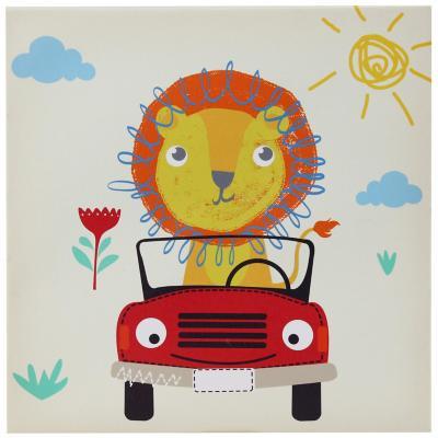Canvas infantil Leoncito 30x30 cm