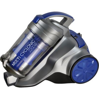 Aspiradora de arrastre 2200 W gris/azul