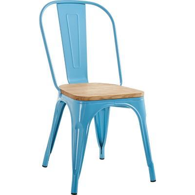 Silla 84x45x53 cm azul