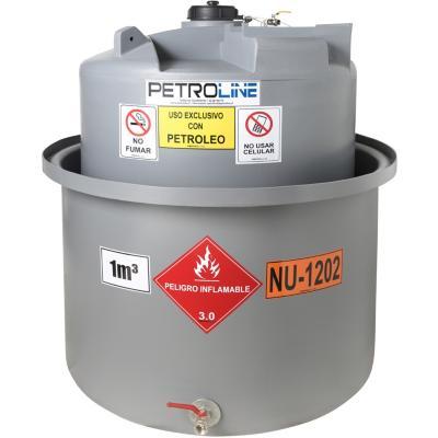 Estanque combustible gravitank diesel 1000 l