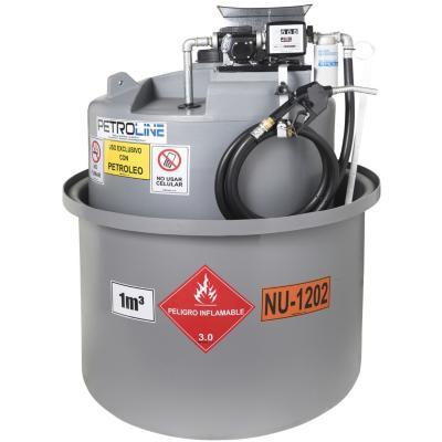 Estanque combustible isla tank diesel 1000 l