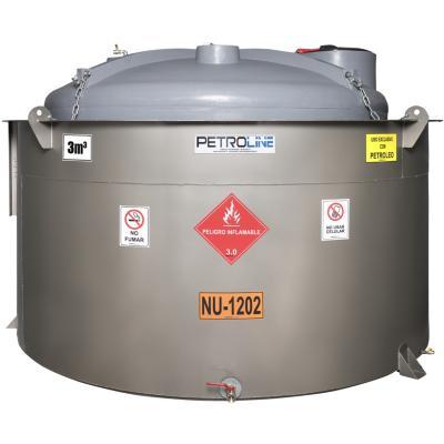 Estanque combustible gravitank diesel 3000 l