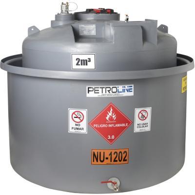 Estanque combustible gravitank diesel 2000 l