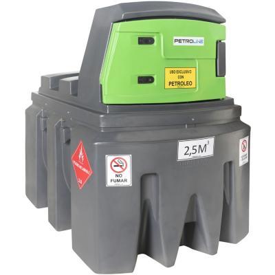 Estanque combustible fuel master diesel 2500 l