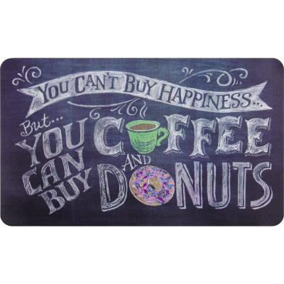 Limpiapies café donas 45x75 cm